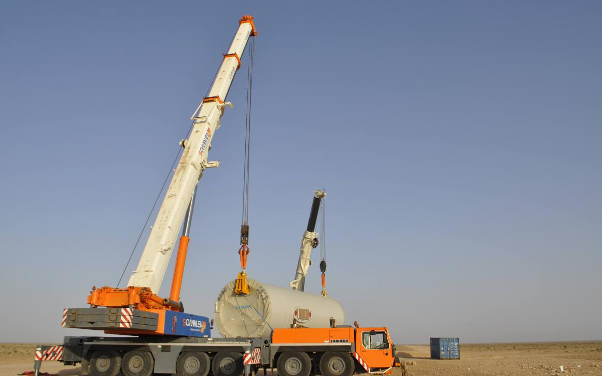 heavy lifting Morocco